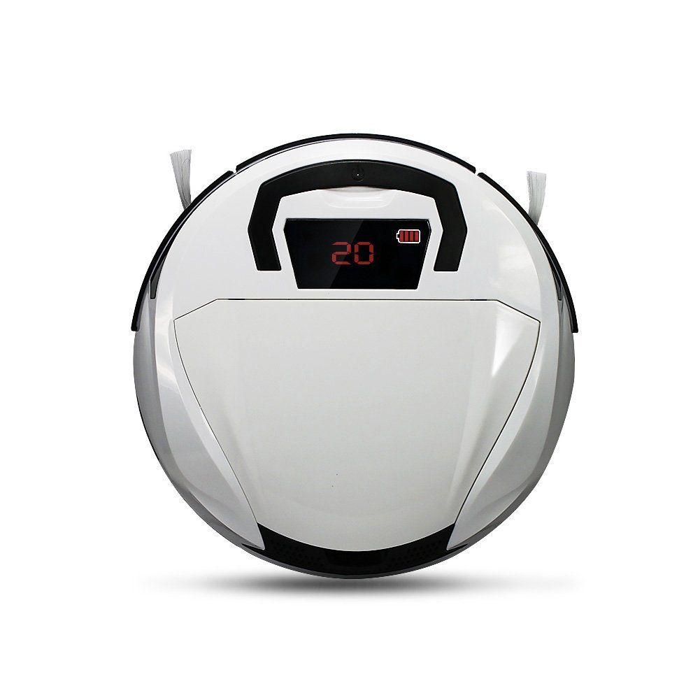 EVERTOP Pulitore Intelligente Smart, Aspirapolvere Robotico Pavimento, Aspiratore Robot Alta Potenza, Potente Robot Wireless Pulitore Casa Bianco: Amazon.it: Casa e cucina