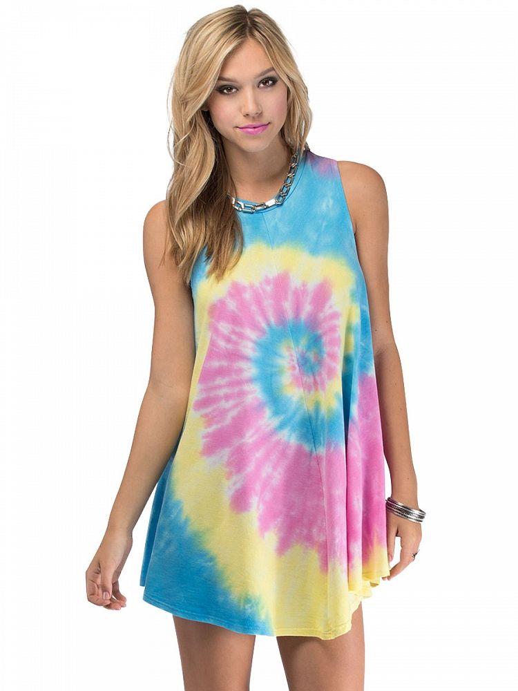 Multicolor Floral Casual Dress