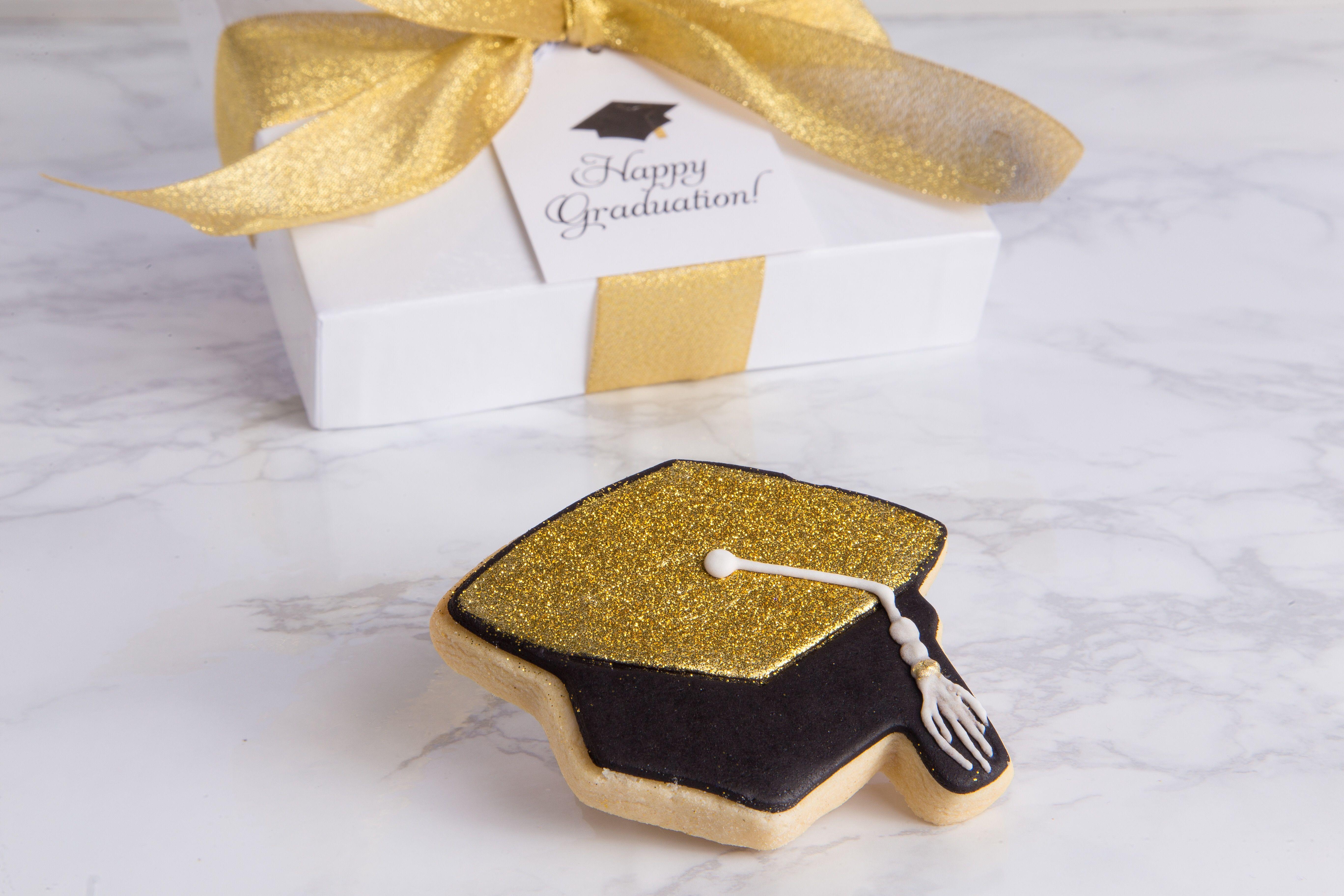 Graduation Single Cookie Gift Box #SweetEs #bakeshop #graduation ...