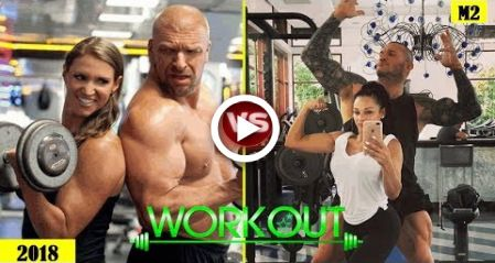 Top 5 WWE Superstar Couple - Training & Workout Together for Wrestling 2018 HD #fitness