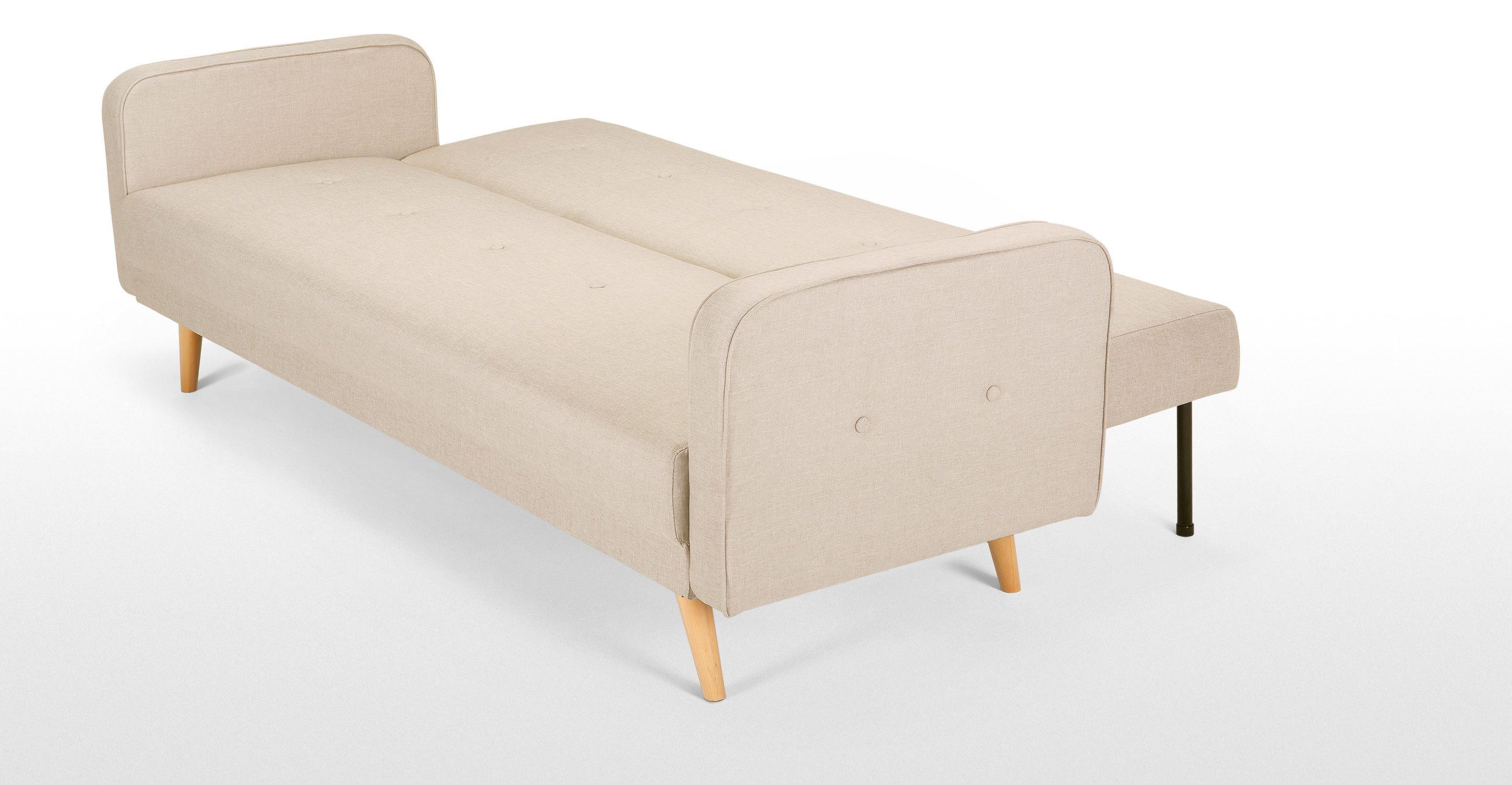 Chou un canapé convertible blanc de céruse