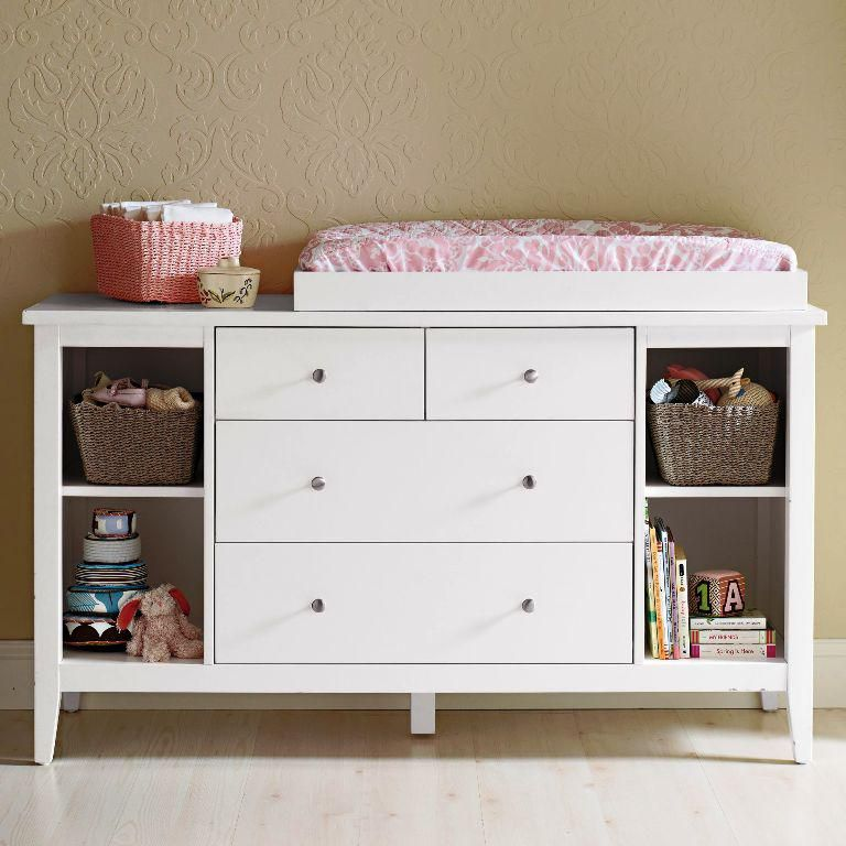 Lovely Baby Dresser Changing Table Espresso