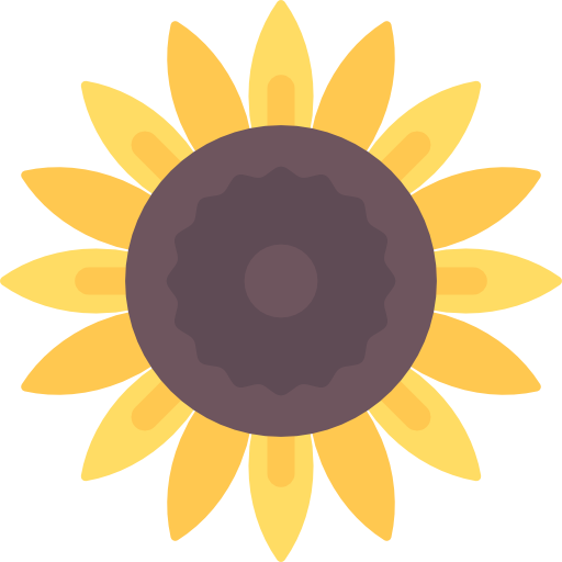 Sunflower Free Vector Icons Designed By Freepik Flower Icons Free Icons Sunflower