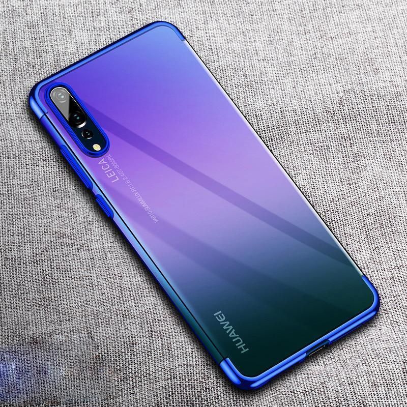 Luxury Plating Soft Cases For Huawei P20 P20 Pro Lite Luxury Plates Huawei Case