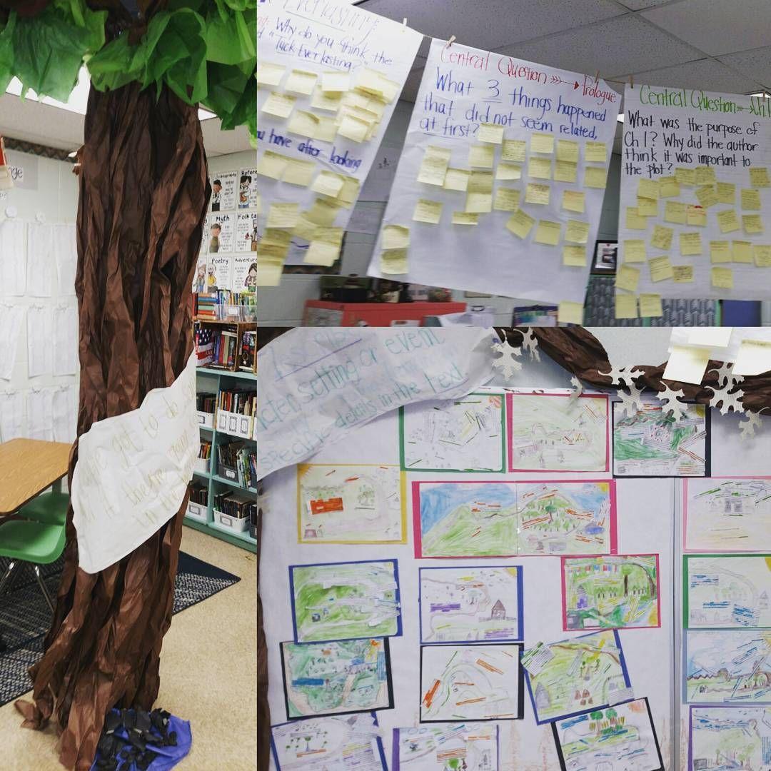 How To Make An Interesting Art Piece Using Tree Branches Ehow Tuck Everlasting Tuck Everlasting Activities Classroom Tree