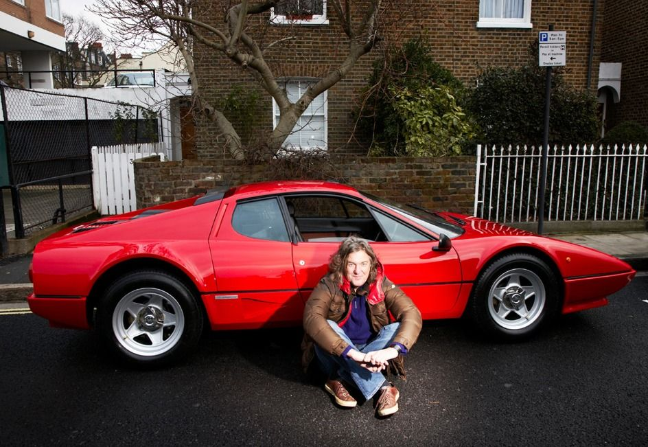 James May And A Ferrari Bb512 Yes Please Voiture