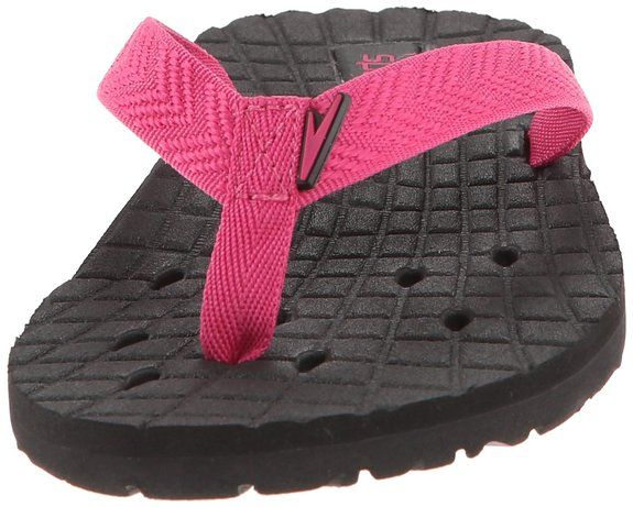 Amazon.com | Speedo Women's QuanFlip Flop Sandal, Insignia Blue/Stripe, 6 M  US | Flip-Flops