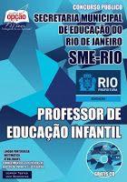 Saiba Mais -  Apostila Concurso SME RIO - Professor de Educação Infantil  #Aprovado