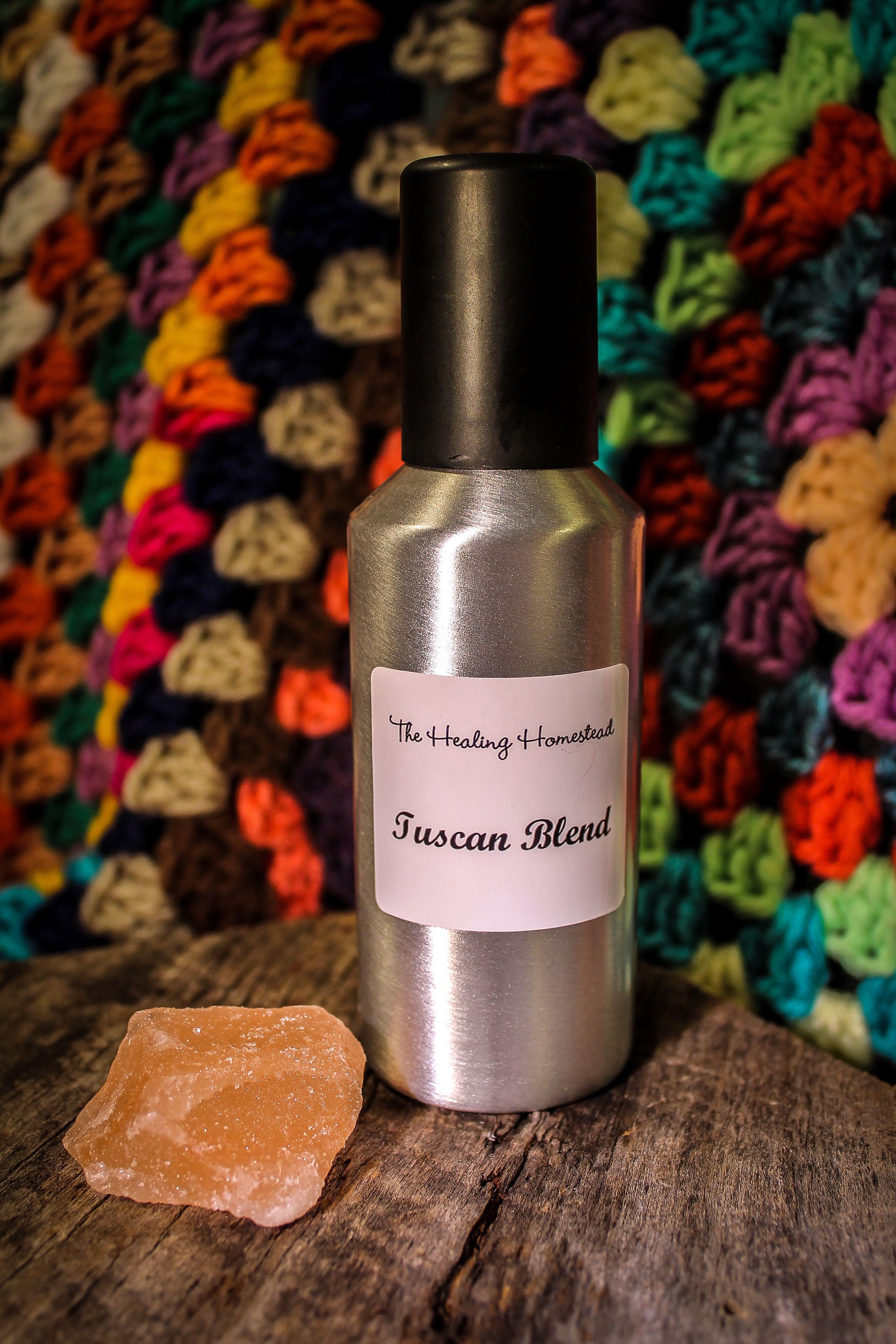 A crystal cleansing duo a spray and salt we all cleanse