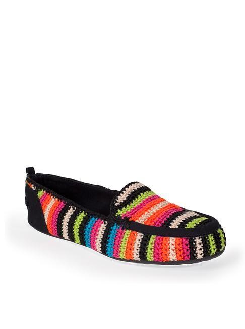 Pantoufles crochet