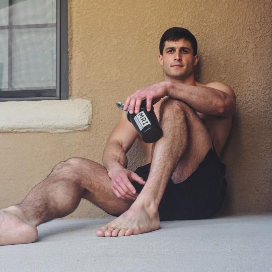 hairy feet fetish