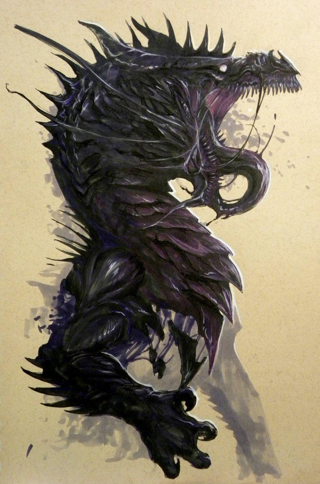 Jaws of the Void by Pythosblaze.deviantart.com on @deviantART