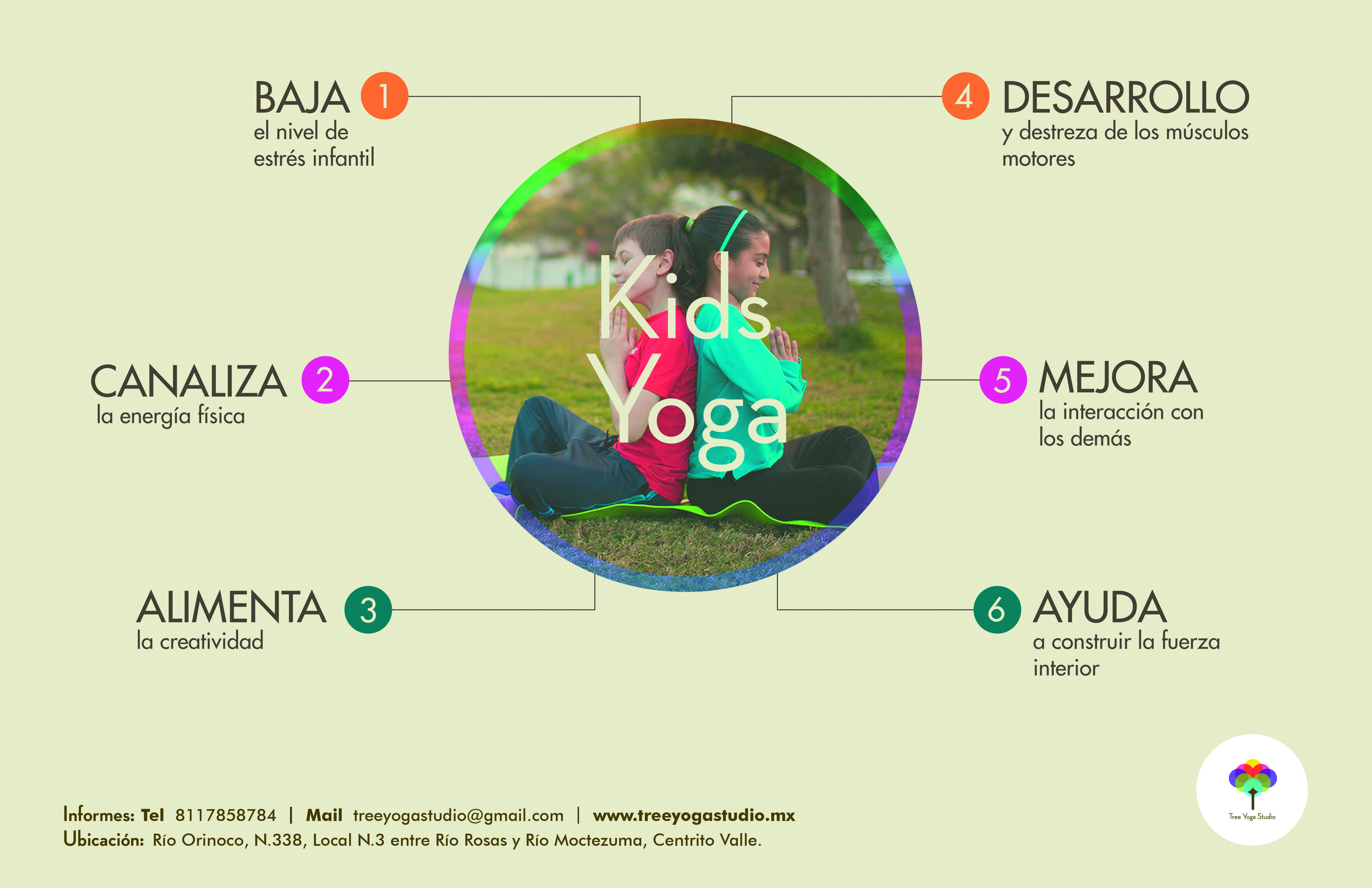 Yoga para niños y sus beneficios  kidsyoga  yoga  beneficios  niños ... d1e06c4c1d2d