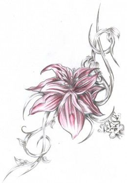 Orchid Tattoo Ideas Designs And Meanings Orchid Tattoo Tribal Flower Tattoos Flower Tattoos