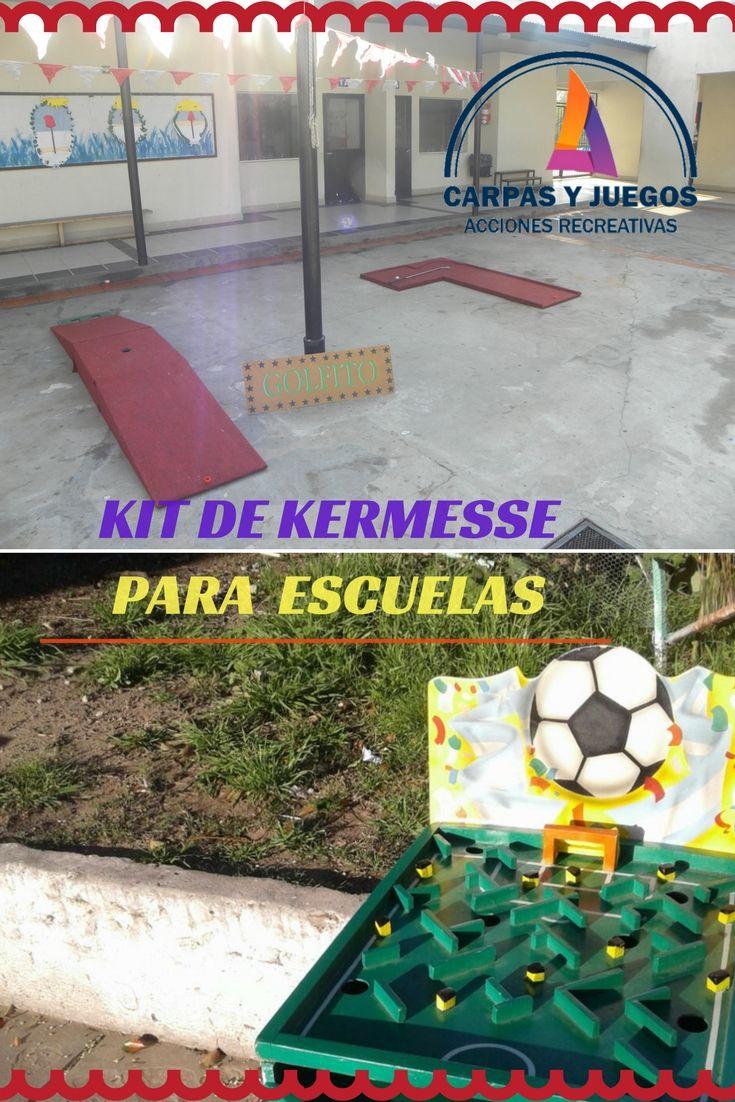 No Dejes De Pedir Los Juegos De Kermesse Para Tu Colegio Pack