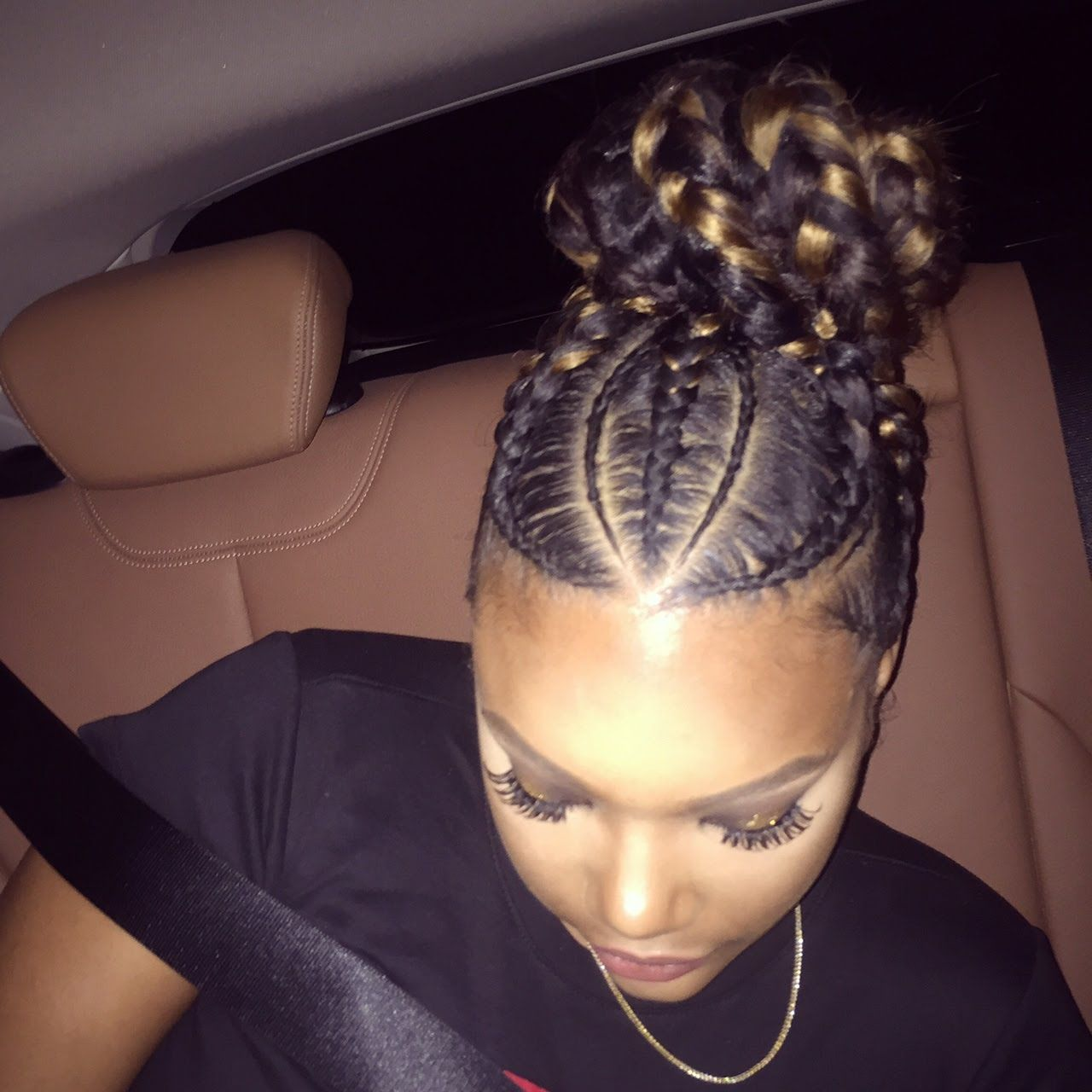 Try These 20 Iverson Braids Hairstyles With Images Tutorials Natural Hair Styles Braided Hairstyles Hair