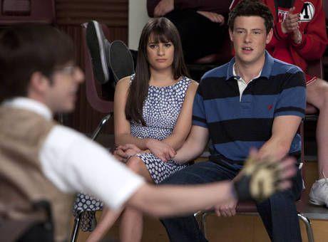 glee rachel and finn | Artie, Rachel, and Finn in Glee