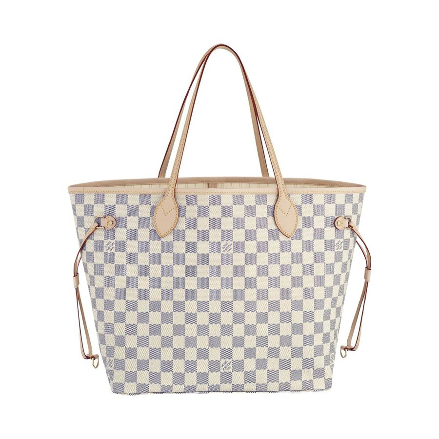 Louis Vuitton Neverfull GM White Shoulder Bags. Love, love!!   I ... d283fc4a4e