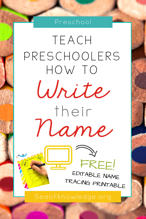 Full-proof Editable Name Tracing Activities for ...