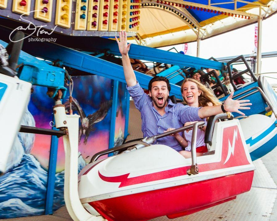 Coney Island Engagement Photos!