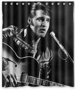 Elvis Presley Shower Curtain