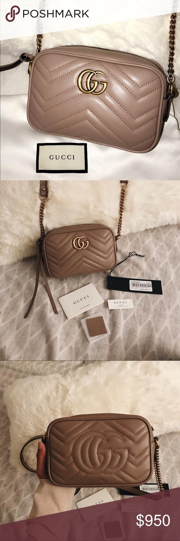 cf9cb6755d0b6b AUTHENTIC Gucci GG Marmont matelassé mini bag AUTHENTIC Gucci GG Marmont  matelassé mini bag in '