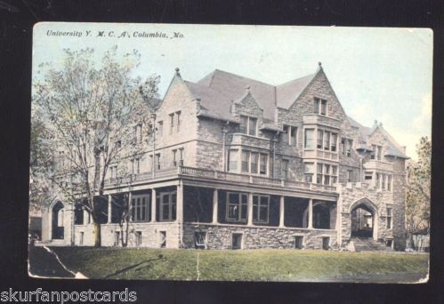 University of Missouri Tigers Columbia MO YMCA Building Vintage Postcard | eBay