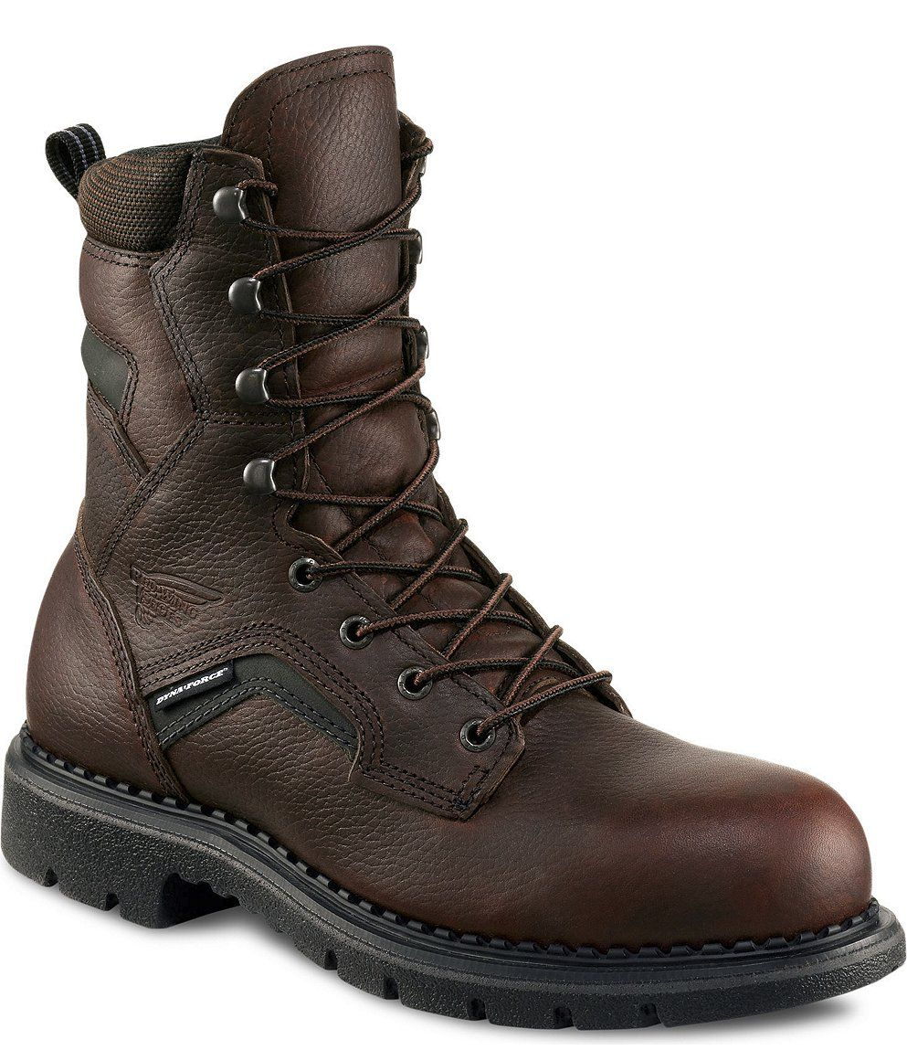 2238 RED WING MEN'S 8INCH BOOT BROWN Electrical