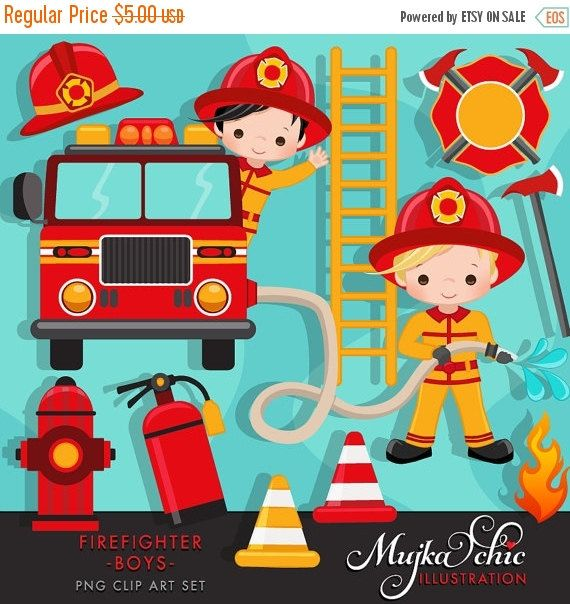 b836154a1f5 Firefighter Clipart