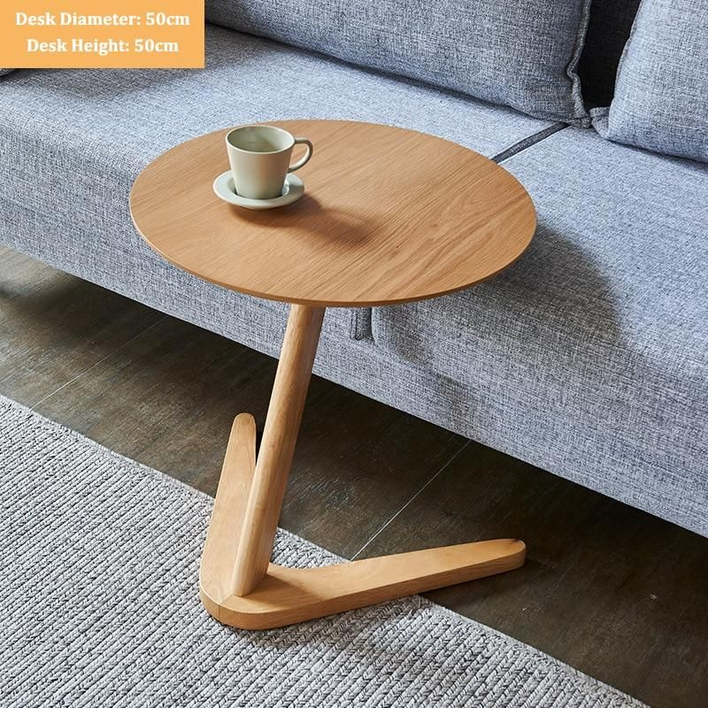 Round Wooden Coffee Table - Sandal Wood
