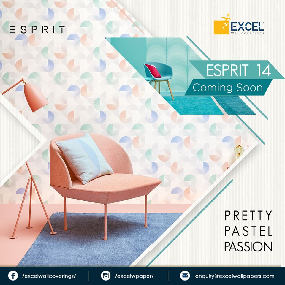 Lively Vivacious Witty As The Name Suggests Here We Bring The Eccentricity Right Inside Your Home Esprit 14 Collection C Wall Coverings Home Decor Home
