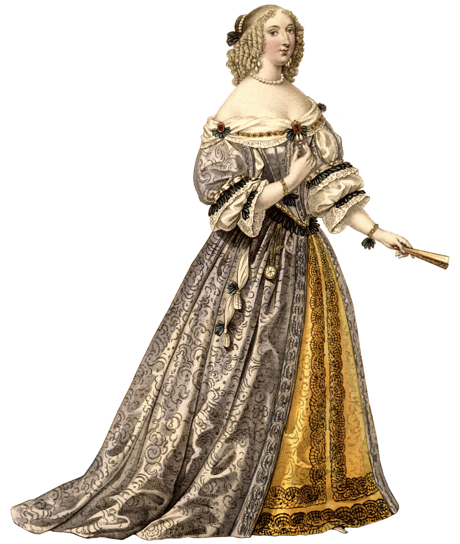 images for gt baroque era fashion women history