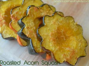 Sweet Roasted Acorn Squash Flowers Recipe Acorn Squash Food