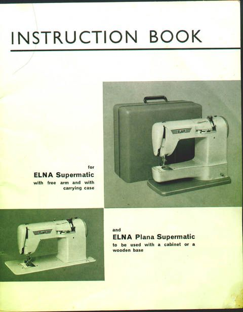 Instruction Manual For My New Sewing Machine Sewing Pinterest Classy Elna Sewing Machine Repair Near Me