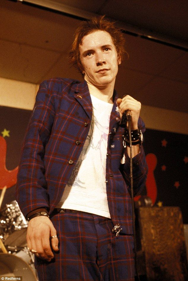 Sex Pistols' icon John Lydon looks world apart from his former self | Daily Mail Online