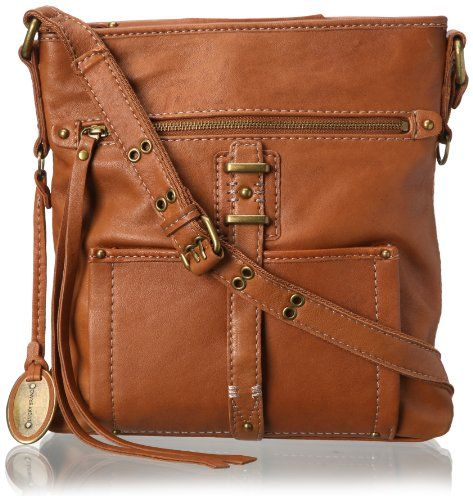 c0cf76a22 Lucky Brand Ashley Large Cross Body Bag,Cognac,One Size Large | BAGs ...