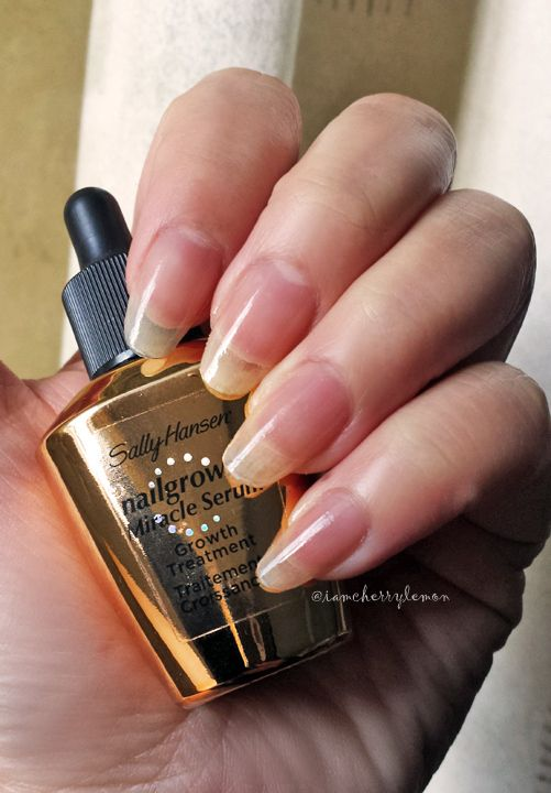 Sally Hansen Nail Growth Miracle Serum And Complete Care Nail Treatment 4 In 1 Product Review