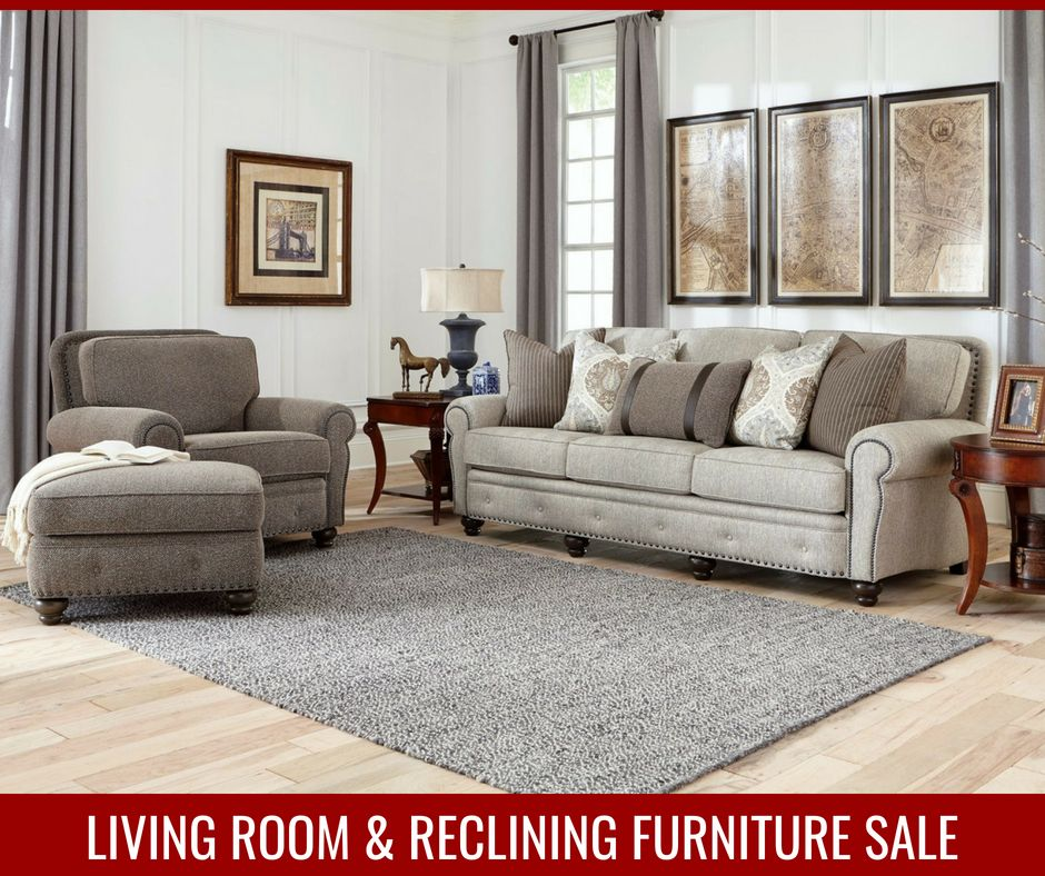 Living Room & Reclining Furniture Sale Going On Now At