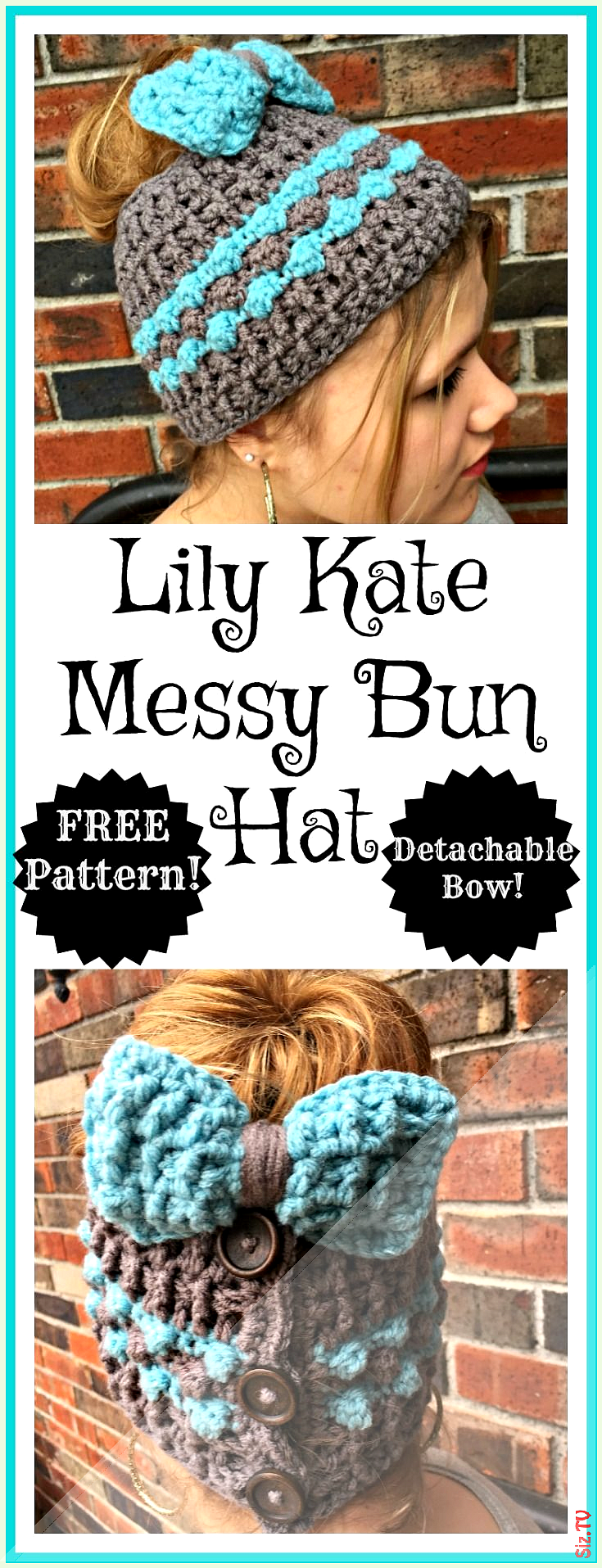 Free crochet pattern for a messy bun hat with detachable bow This is so cute messybunhat Free crochet pattern for a messy bun hat with detachable b  Free crochet pattern for a messy bun hat with detachable bow This is so cute messybunhat Free crochet pattern for nbsp  hellip   #crochet #detachable #messy #messybunaesthetic #messybunhat #pattern #kidsmessyhats