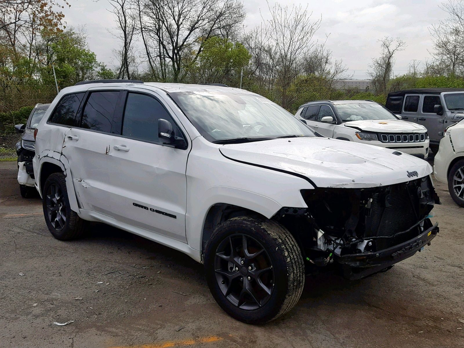 Salvage 2019 Jeep Grand Cherokee Limited Suv For Sale Ny