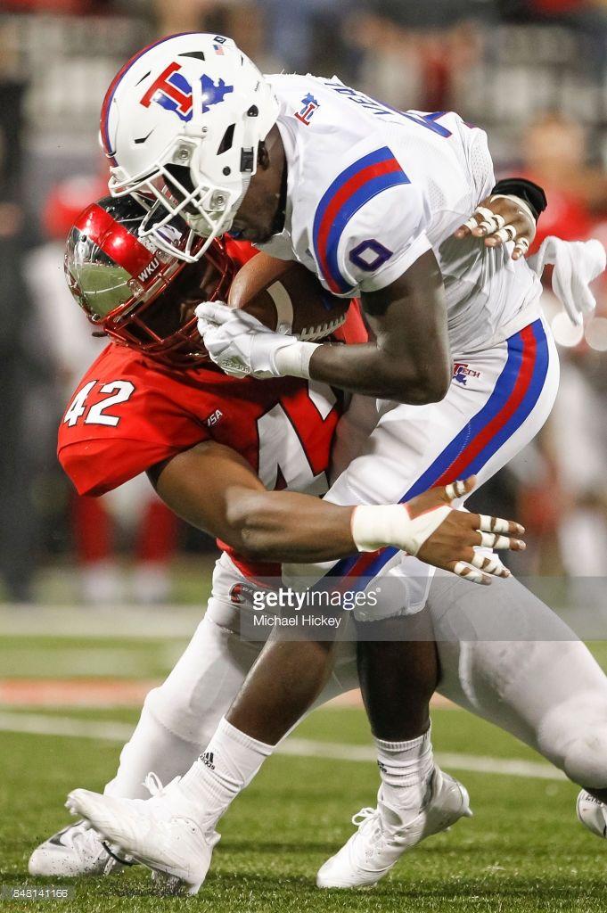 News Photo Teddy Veal of the Louisiana Tech Bulldogs is
