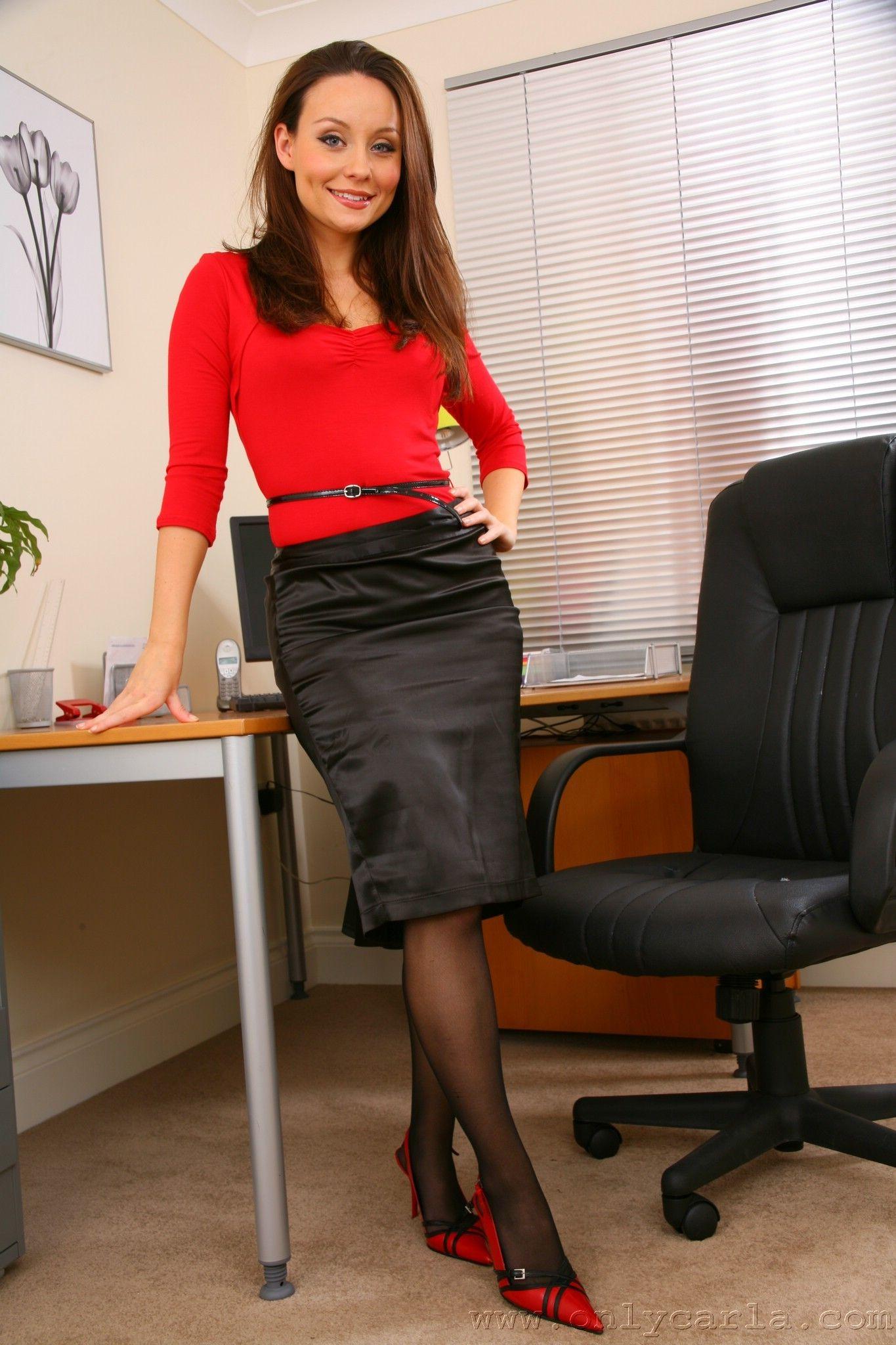 Девушки в офисе в юбке, наши жены частное ню