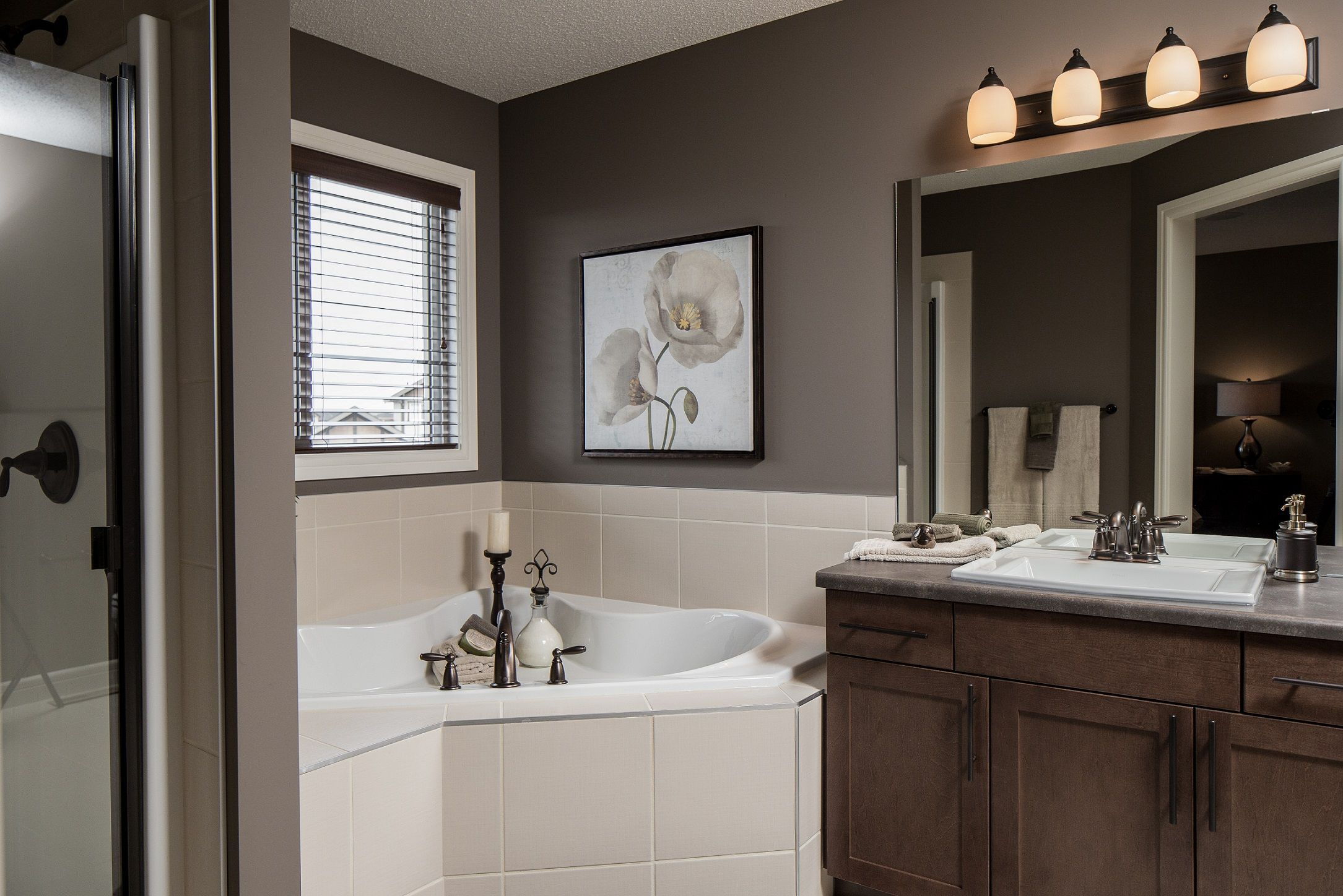 Ensuite Bathroom Edmonton the spa-like ensuite is ready for you at the end of the day! | the