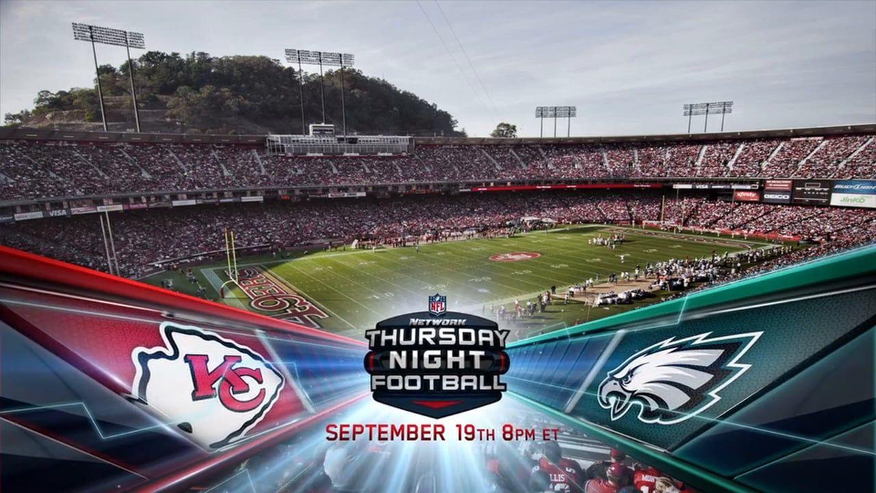 NFL Network Thursday Night Football Lower Third Live