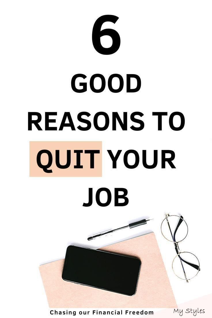 Why you should quit your job career quotes in 2020