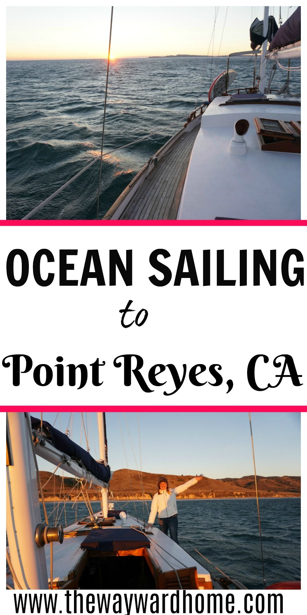 My first time ocean sailing! Exhilarating, beautiful, wild | The