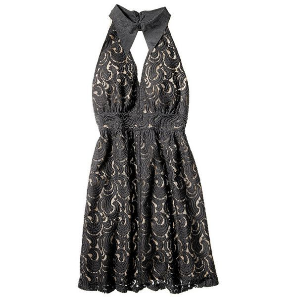 Anna Sui for Target lace dress ❤ liked on Polyvore featuring dresses, lacy dress, lace dress, anna sui dress, lace cocktail dress and anna sui