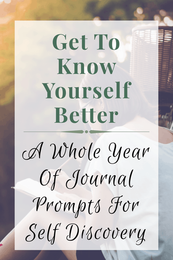 365 Journal Prompts For Self Discovery (Plus Free PDF) - Taking Care Of You
