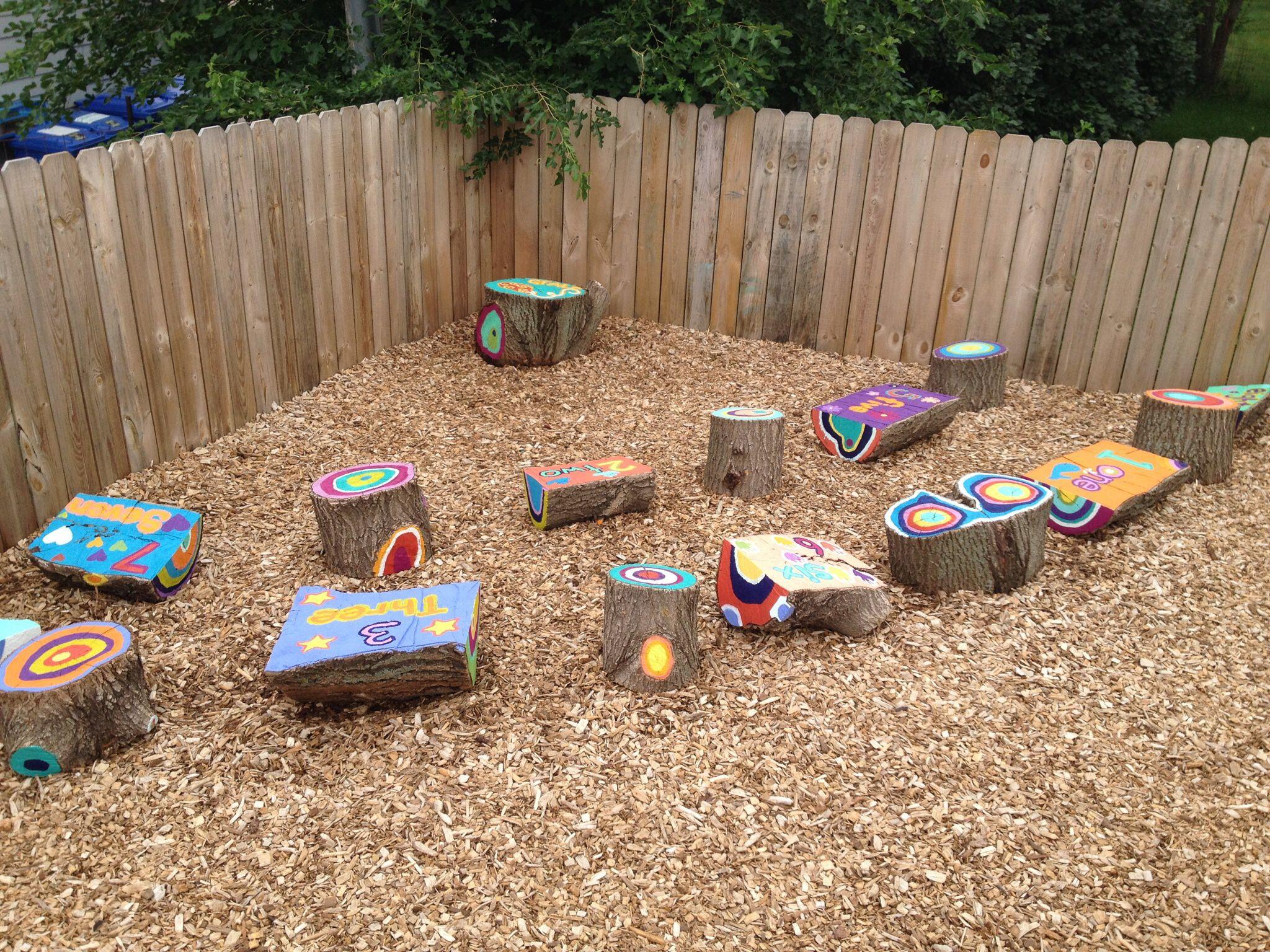 All Natural Playground | Preschool playground, Natural ...