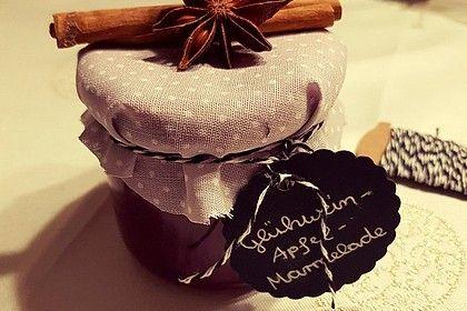Apfel - Glühwein - Marmelade von ellmi1505 | Chefkoch